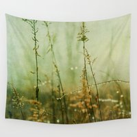 meditation Wall Tapestries featuring Meditation by Olivia Joy StClaire