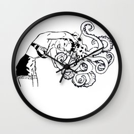 octomum Wall Clock