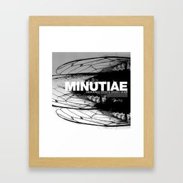 MINUTIAE / 00 Framed Art Print