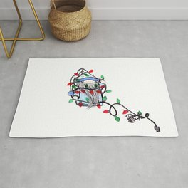 Gnome in Lights Rug