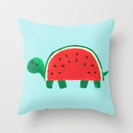 Slow Day Throw Pillow