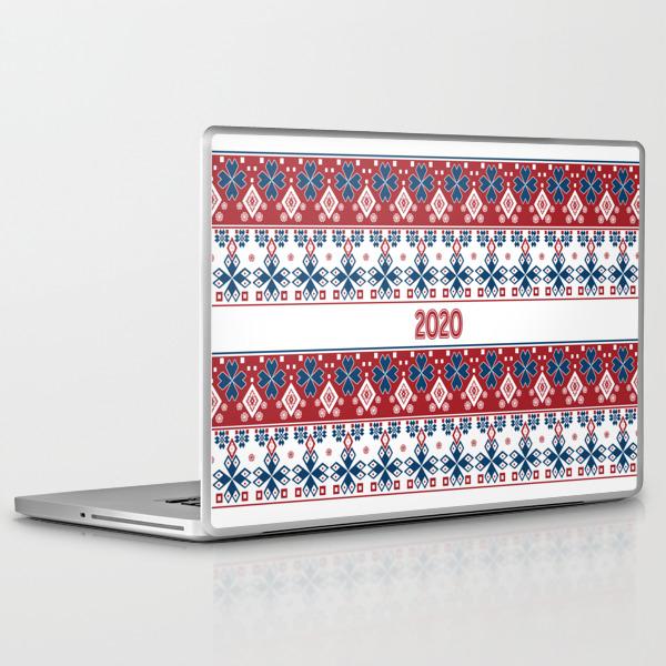 New year , 2020 , Christmas Laptop & iPad Skin by fuzzyfox85