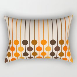 Golden Sixlet Rectangular Pillow