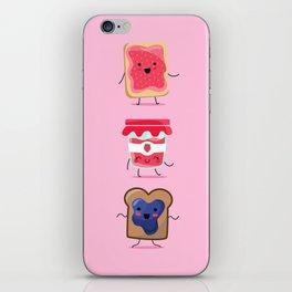 Breakfast Is Jammin' iPhone Skin