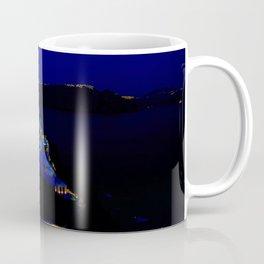 Oia, Santorini at Dusk. Coffee Mug