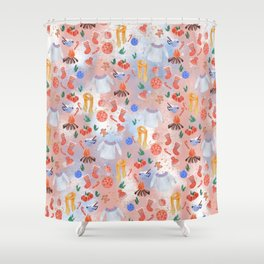 Winter Vibes Shower Curtain
