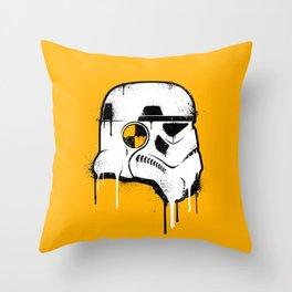 Stencil Trooper - Star Wars Throw Pillow