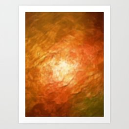 Ignition Cognition Abstract Art Print