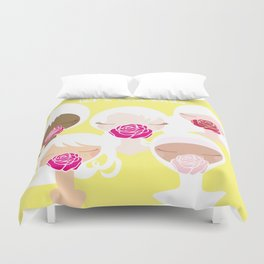 Let's End Endo - It's Okay to Talk Duvet Cover