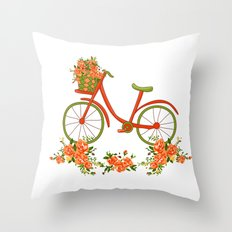 What a nice trip Throw Pillow