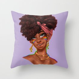 Pride 001 Throw Pillow