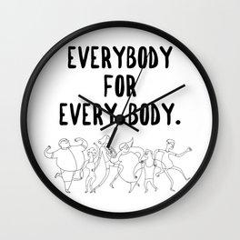 Every Body Wall Clock