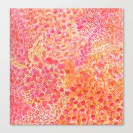 Warmth Watercolor Canvas Print