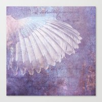 wings Canvas Prints featuring WINGS by INA FineArt