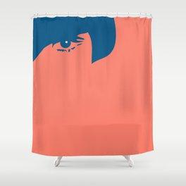 Watching You Shower Curtain