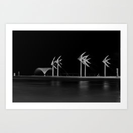 Cairns Esplanade Swimming Lagoon Art Print