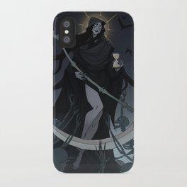 Drawlloween Tarot: XIII Death iPhone Case