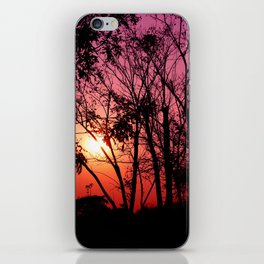 Pinky Sunset iPhone Skin