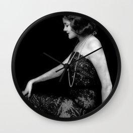 Jeanne Eagels Wall Clock