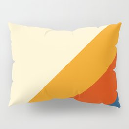 Retro Lines Diagonal Pillow Sham