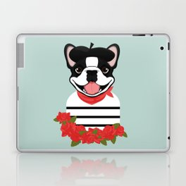 Je t'aime Frenchie Laptop & iPad Skin
