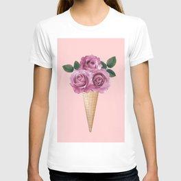 Floral Ice Cream T-shirt