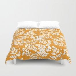 Spring Orange Duvet Cover