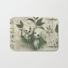 Natural Histories - Forest Spirit studies Bath Mat