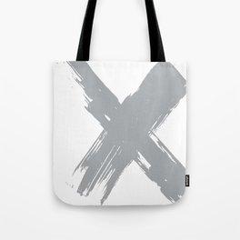 cross gray #2 Tote Bag