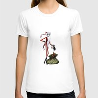 jack skellington T-shirts featuring Christmas Nightmare Jack Skellington by Inara