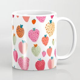 Strawberry Paintings Coffee Mug