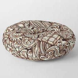 Chocolate 1 Floor Pillow