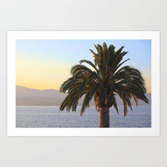 Corsica Art Print