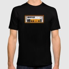 Retro Orange guitar electric amp amplifier iPhone 4 4s 5 5s 5c, ipad, tshirt, mugs and pillow case Mens Fitted Tee X-LARGE Black