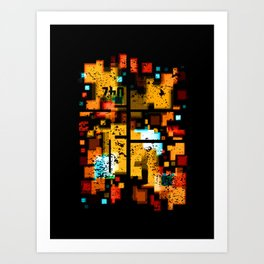 Abstract Composition #3 Art Print