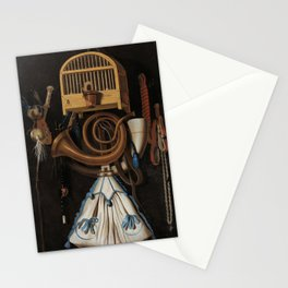 Anthonie Leemans - Hunting Gear, Still Life (1661) Stationery Cards