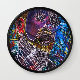 OhISeeYOUTWOAteOneTwo//BONO Wall Clock