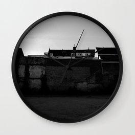 Behind the walls Wall Clock