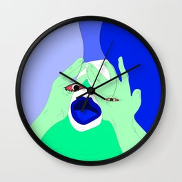 I've been watching reality television for 9 hours Wall Clock