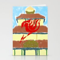 fairy tail Stationery Cards featuring Fairy Tail Segmented by JoshBeck
