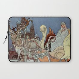 """The Happy Princess"" Fairy Art by Charles Robinson Laptop Sleeve"