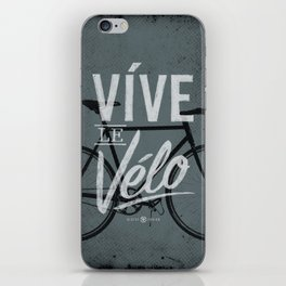 Vive Le Velo 2011 grayscale iPhone Skin