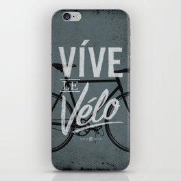 Vive Le Velo 2011 grayscale iPhone Skin