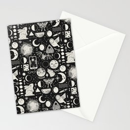 Lunar Pattern: Eclipse Stationery Cards