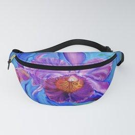 Hawaiian Orchid Lavender Fanny Pack