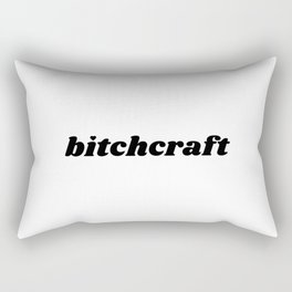 Bitchcraft Rectangular Pillow