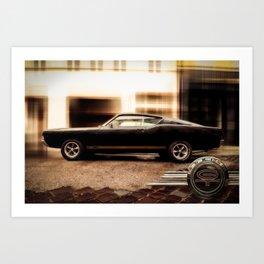 Ford Torino GT 380 Art Print