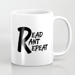 Let's Read, Rant, Repeat Book Club Coffee Mug