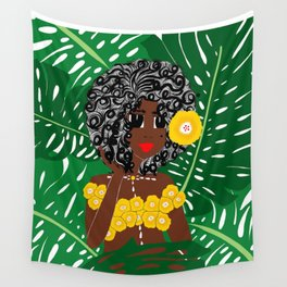Tropical Gal Wall Tapestry