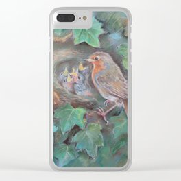Bird's family Clear iPhone Case